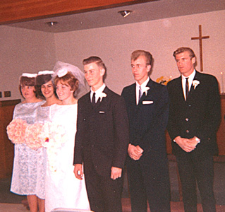 Wedding Party of Netha Houdashelt and Jerry Thacker
